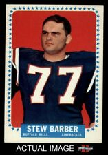 1964 Topps #23 Stew Barber Bills EX/MT