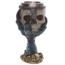 3D Skull Skeleton Halloween Wine Dishware Warrior Cup Drinks Goblet Beer Bottle