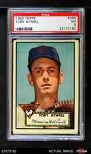 1952 Topps #356 Toby Atwell Cubs PSA 3 - VG