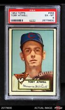 1952 Topps #356 Toby Atwell Cubs PSA 6 - EX/MT