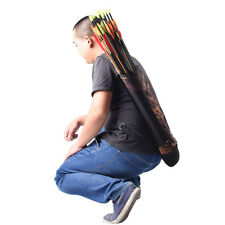 Outdoor Hunting Back Quiver Bag Bow Arrow Holder Pouch Archery Accessories