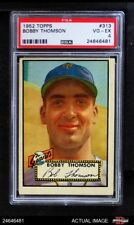 1952 Topps #313 Bobby Thomson Giants PSA 4 - VG/EX