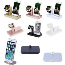 Phone Watch Charger Charging Dock Station Holder Stand For Apple iWatch iPhone