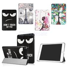 Magnetic Smart Flip Cover Stand Painted Leather Case For New iPad 2017 9.7''