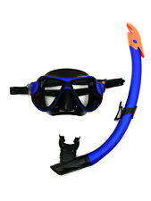TBF 2PC X-Dive Silicone Mask & Standard / Dry Top Snorkel Set Swimming Diving