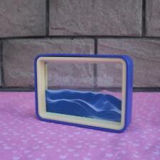 Floating Liquid Timer Visual Sandglass Toy 3D Dynamic Hourglass Sand Drawing