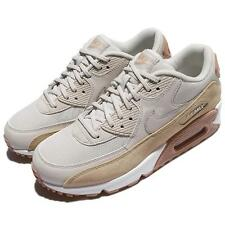 Nike Wmns Air Max 90 Light Bone Mushroom Women Running Shoes Sneakers 325213-046