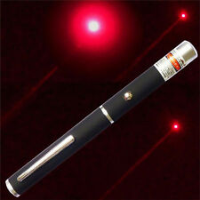 650nm 5mw New Powerful Visible Light Beam Red Focus Burning Laser Pointer Pen