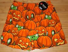 Angry Birds Pumpkin Halloween Boxers/Boxer Shorts Small New