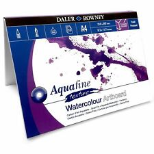Daler Rowney Aquafine Watercolour Painting Art Board Pad - 10 Sheets - A4 or A3
