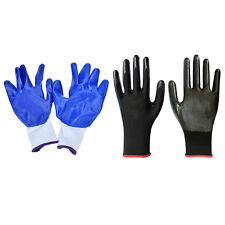 1/5 Pairs Worker Latex Rubber Work Labor Anti Prick Gloves Safely Gloves 7Q
