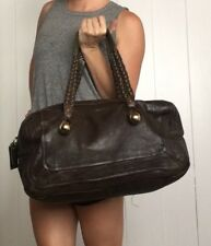 $2,000 Authentic CHLOE leather Brown LARGE Purse BAG