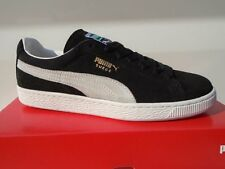 Puma Suede Classic Cat Men's Sneaker Gym Shoe Black Gray Size 44 45 NEW