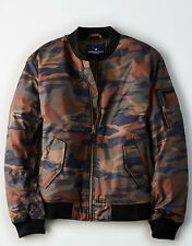 NWT American Eagle CAMO QUILTED BOMBER JACKET - Size S, M, L, XL