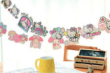 Hello Kitty, My Melody party Accessory Banner Bunting Birthday Garland KK825
