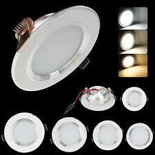 Dimmable LED Recessed Ceiling Panel Down Light Fixture 3W 5W 7W 9W 12W Lamp Bulb