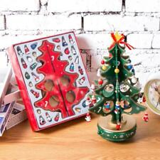 3D Wooden Christmas Tree Christmas Table Decoration Xmas Hanging Ornaments