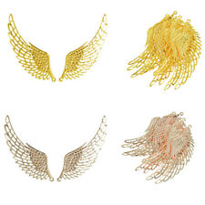 12Pcs Jewelry Charms Pendants DIY Alloy Wings Findings Making MagiDeal