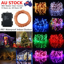 20M 200LED ​Waterproof Timer Function String Fairy Light Christmas Party Outdoor