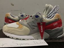 CONCEPTS CNCPTS X NEW BALANCE 999 HYANNIS RED SZ 8 9.5 kennedy 998 complexcon