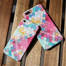 3D Colorful Hard Case Phone Cover Protector for Apple iPhone 6/6S/7/7 Plus New