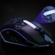 LED Adjustable 3200DPI USB Wired Optical Gaming Mouse Gamer Mice PC Laptop