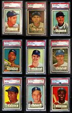 1952 Topps 1952 Topps High Number Complete Set VG+