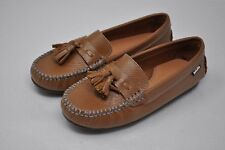 VENETTINI-Womans Luggage Leather Penny Loafers Drivers Mocs sz 32-34 (4477) $85+