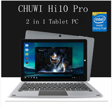 "10.1"" CHUWI Hi10 Pro 2in1 Ultrabook Tablet PC 64GB Windows10+Android5.1 Dual OS"