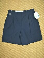 $46 Liz Claiborne Lizgolf Coolmax Pleated Golf Bermuda Shorts NWT 10,12