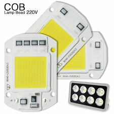 Smart IC 20W 30W 50W RGB LED Light Bulb COB Chip Bead Floodlight SMD White Lamp