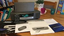 Bose Wave music system with DAB radio module and remote