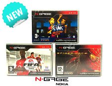 N-Gage/ NGAGE Spiele: Spiderman 2, FIFA 2005 & The Sims: Bustin' Out! NEU & OVP!