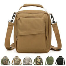 Men Waterproof Nylon Tote Handbag Military Travel Shoulder Messenger Handbags