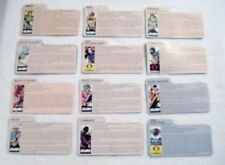 Vintage 1982 - 1983 - 1984 - 1985 GI Joe File Cards