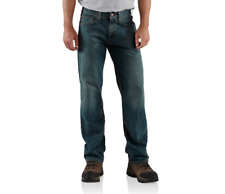 NEW CARHARTT B320 RELAXED FIT STRAIGHT LEG WORK JEANS - SEVERAL SIZES