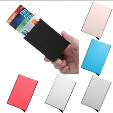 Thin Business ID Credit Card Wallet Holder Automatic Wallet Pocket Bank Card US