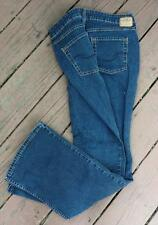 Signature by Levi Strauss Co Levis Blue Jeans Misses 14 Long Boot Cut Stretch