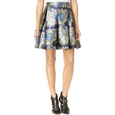 Guess 8561 Womens Jacquard Floral Print Pleated Skirt BHFO