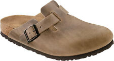 Birkenstock Boston Oiled Leather - Unisex Clogs slippers with leather Upper NEW
