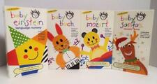Lot of 4 BABY EINSTEIN VHS VIDEOS Mozart Bach Santa's Music Box ALL Different