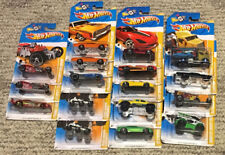 HOT WHEELS 2012 NEW MODELS OF 247 CARS  BIN 1  STOCK L, N,