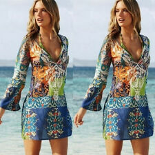 Womens Beachwear Swimwear Bikini Beach Wear Cover Up Kaftan Ladies Summer Dress