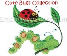 CUTE BUGS COLLECTION - MACHINE EMBROIDERY DESIGNS ON CD