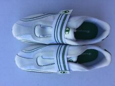 Champion Women White Green hook and loop  Tennis Shoes Sneakers Athletic Size 9