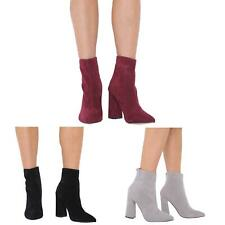 NEW WOMENS LADIES ZIP UP CHELSEA ANKLE BOOTS BLOCK HEEL SHOES SIZES 3-8