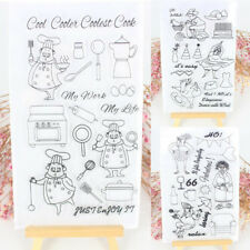 Silicone Clear Rubber Stamps Seal Scrapbooking Album Card Decor Diary DIY Craft