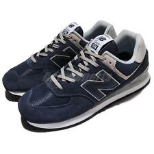 New Balance ML574EGN D 574 Suede Blue Grey Men Running Shoes Sneakers ML574EGND