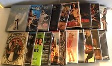 DVD SLIPCOVERS With CASES ONLY (NO DVD DISCS)