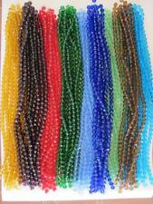 Bulk/Wholesale 5 Strands 8mm Round Glass Faceted Beads (Approx 220 Beads)